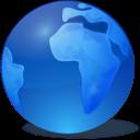 blaue-globus